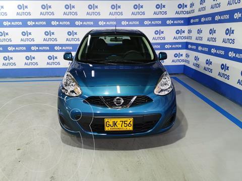 Nissan March Sense  AT usado (2020) color Turquesa financiado en cuotas(anticipo $6.000.000)