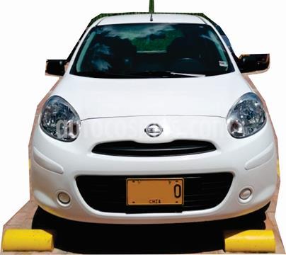 Nissan March Connect usado (2019) color Blanco precio $32.500.000