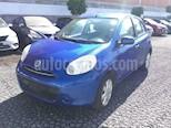 Foto venta Auto usado Nissan March MARCH 1.6 ADVANCE AT 5P color Azul precio $122,000