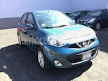 Foto venta Auto usado Nissan March MARCH ADVANCE TM (2017) color Turquesa precio $179,600