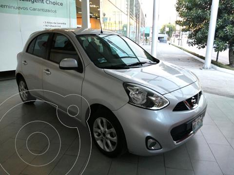 Nissan March Advance Aut usado (2016) color Plata financiado en mensualidades(enganche $33,869 mensualidades desde $4,689)