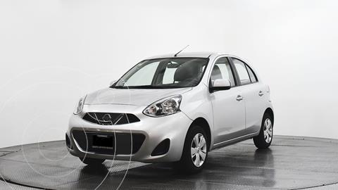 Nissan March Sense usado (2015) color Plata Dorado precio $134,700