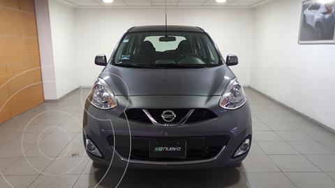 Nissan March Advance usado (2020) color Gris precio $229,000