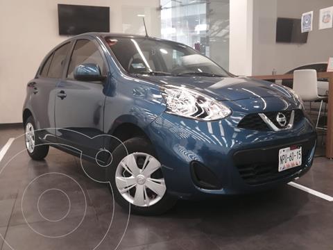 Nissan March Sense usado (2020) color Azul precio $199,000