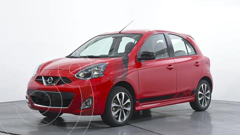 Nissan March SR NAVI usado (2018) color Rojo precio $184,000