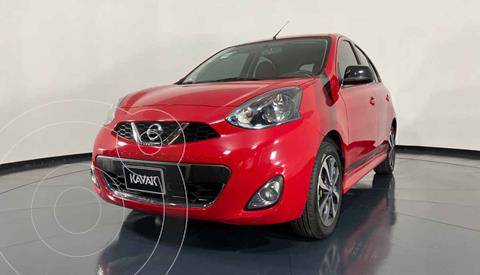 Nissan March SR usado (2018) color Rojo precio $179,999