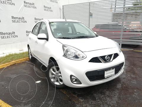 Nissan March Advance Aut usado (2018) color Blanco precio $185,000