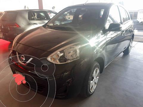Nissan March Sense  Aut usado (2019) color Negro precio $175,500