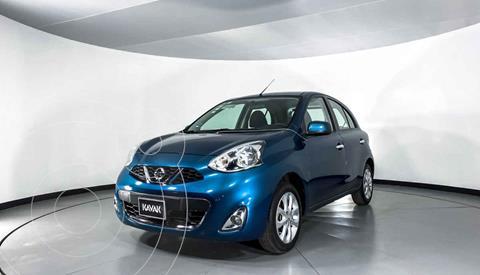 Nissan March Advance NAVI usado (2014) color Azul precio $134,999