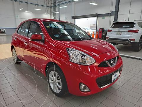 Nissan March Advance usado (2018) color Rojo precio $159,000