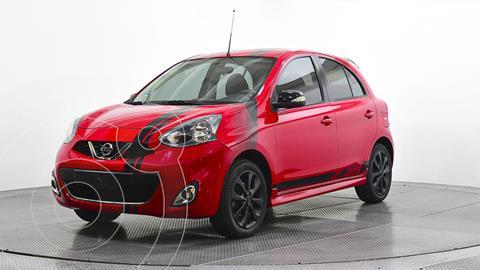 Nissan March SR NAVI usado (2017) color Rojo precio $177,000