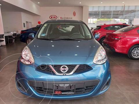Nissan March Sense  Aut usado (2016) color Azul precio $144,000