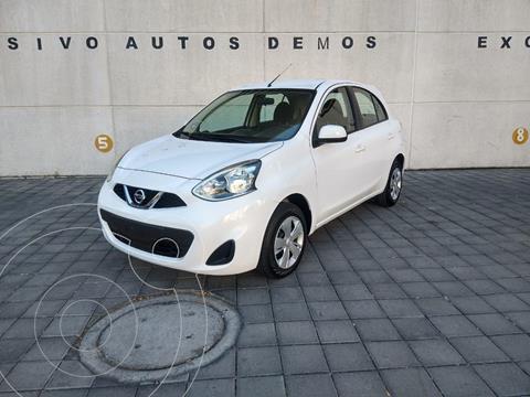Nissan March Sense  Aut usado (2018) color Blanco precio $149,900