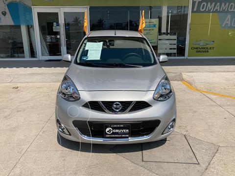 Nissan March Advance NAVI usado (2018) color Plata Dorado precio $198,000