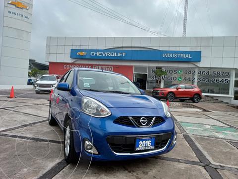Nissan March Advance usado (2016) color Azul precio $150,000
