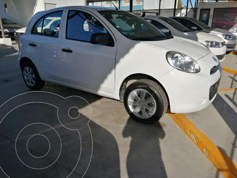 Nissan March ACTIVE L4 1.6L ABS BA AC TM usado (2020) color Blanco precio $170,000