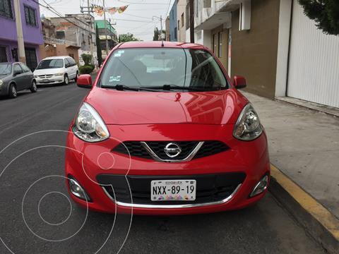 Nissan March Advance usado (2017) color Rojo precio $142,000