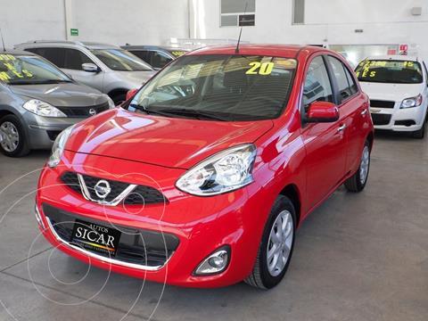 Nissan March Advance Aut usado (2020) color Rojo precio $219,000