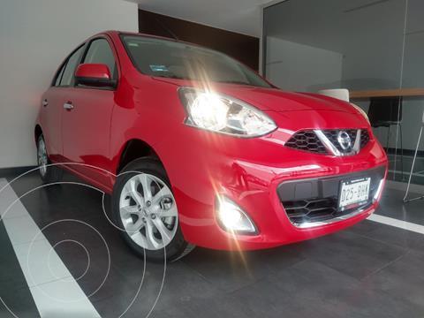 Nissan March Advance usado (2020) color Rojo precio $219,800