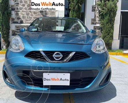 Nissan March Sense usado (2018) color Azul precio $154,700
