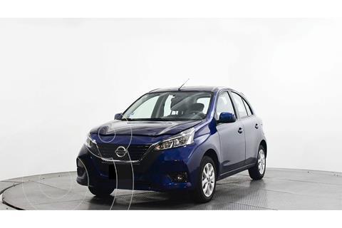 Nissan March Advance usado (2021) color Azul Marino precio $249,500