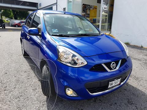 Nissan March 5 pts. HB Advance, TM5, a/ac., DA, BA, CD, RA-15 usado (2017) color Azul precio $183,000
