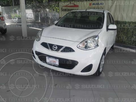 Nissan March Sense usado (2018) color Blanco precio $169,000