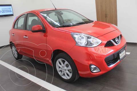 Nissan March Advance Aut usado (2020) color Rojo precio $249,000