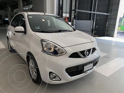Nissan March Advance usado (2015) color Blanco precio $136,000