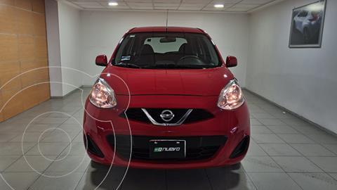 Nissan March Sense usado (2016) color Rojo precio $139,000