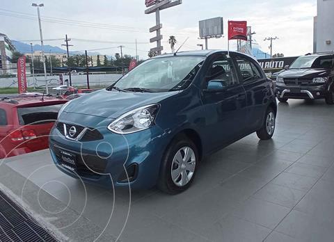 Nissan March Sense usado (2019) color Azul precio $175,000