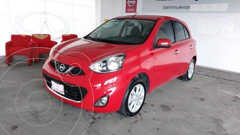 Nissan March Advance usado (2020) color Rojo precio $210,000