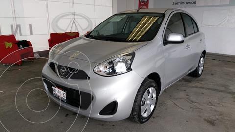 Nissan March Sense usado (2020) color Plata Dorado precio $195,000