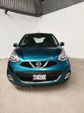 Nissan March Advance usado (2016) color Azul Electrico precio $130,000