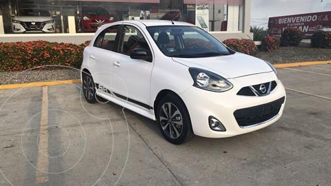 Nissan March SR NAVI usado (2018) color Blanco precio $210,000