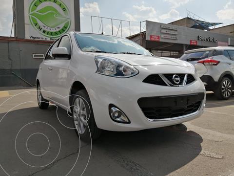 Nissan March Advance Aut usado (2020) color Blanco precio $219,800