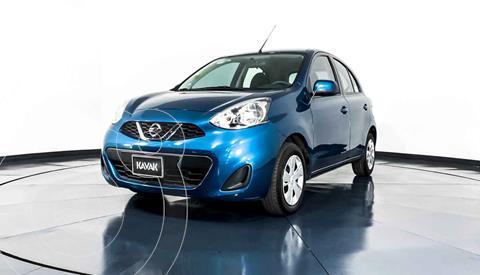 Nissan March Sense Aut usado (2018) color Azul precio $164,999