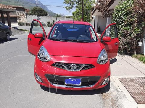 Nissan March Advance usado (2019) color Rojo precio $180,000
