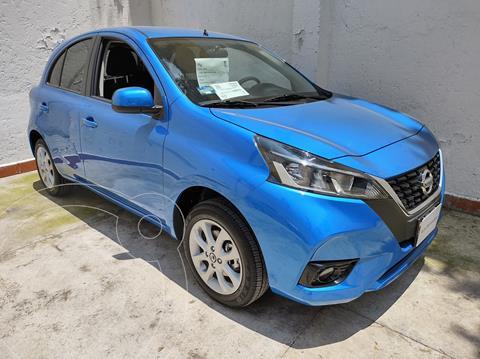 Nissan March Advance usado (2021) color Azul precio $249,000