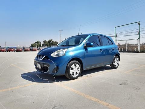 Nissan March Sense usado (2014) color Azul precio $109,000