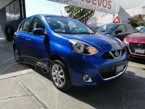 Nissan March Advance Aut usado (2018) color Azul Electrico precio $199,800