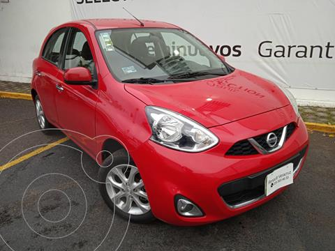 Nissan March Advance usado (2017) color Rojo precio $145,000