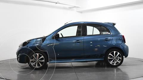 Nissan March SR NAVI usado (2015) color Azul precio $149,000