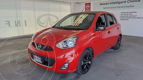 Nissan March Exclusive usado (2020) color Rojo precio $245,000