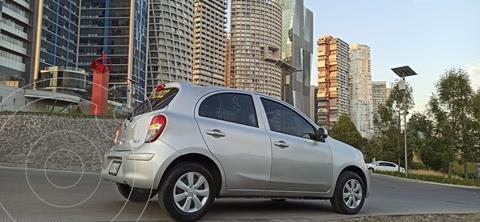 Nissan March Sense  usado (2013) color Plata precio $83,000