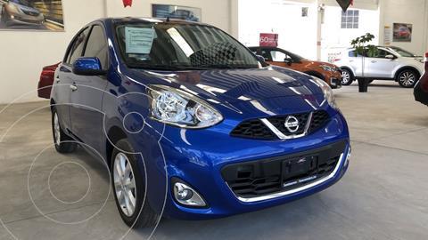Nissan March Advance usado (2019) color Azul Electrico precio $192,000