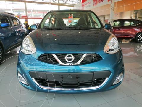 Nissan March Active usado (2020) color Azul precio $190,000