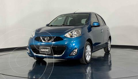 Nissan March Advance Aut usado (2018) color Azul precio $199,999