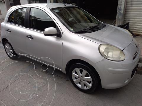 Nissan March Advance usado (2012) color Gris Plata  precio $92,500