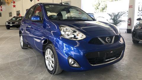 Nissan March Advance usado (2017) color Azul Electrico precio $159,000